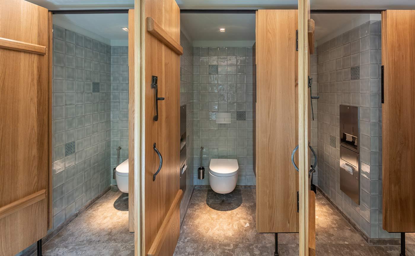 WC-Bürste Wandmontiert