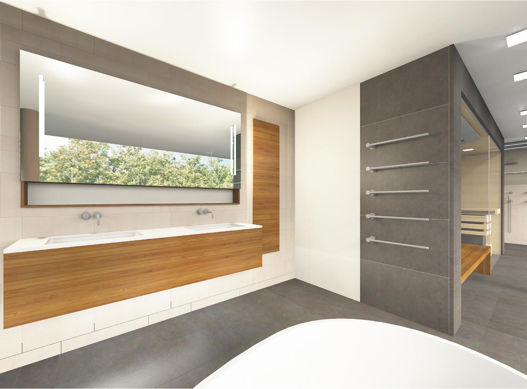 Badplanung München 3D Badezimmer